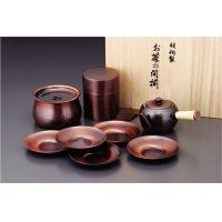 CB525 dream teapot, tea caddy, Jianshui, saucers set 6295z (japan import)