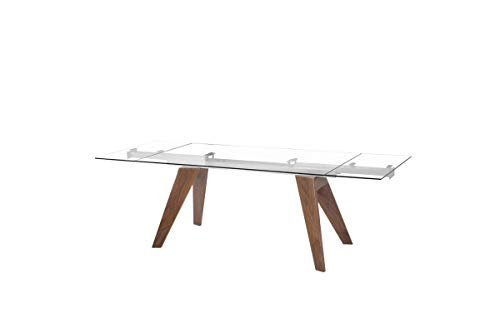 (Limari Home LIM-74068 Moser Extendable Dining Table)