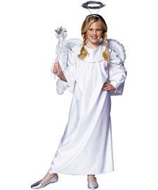 RG Costumes Deluxe Angel, Child Medium/Size (Children Angel Costume)