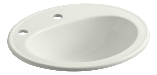 Kohler K-2196-1F-NY Pennington Self-Rimming Bathroom Sink...