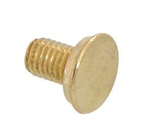B&P Lamp 1/4-27 Flat Head Finial Screw (Finial Head)