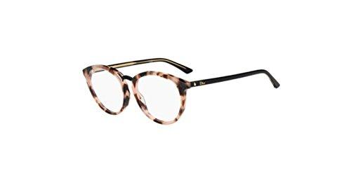 Authentic Christian Dior Montaigne 39 0C9J Havana Black Eyeglasses