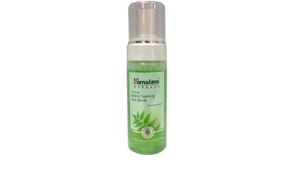 Espuma de purificación de Himalaya Neem Face Wash (150 ml): Amazon ...