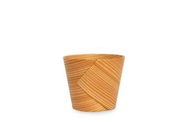 Handcrafted Japanese Bentwood Sake Cup Made of Cedar, 1pcs by Kurikyu, est. 1874
