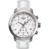 Tissot PRC 200 Chronograph White Dial Steel Watch T0554171601700 - Chronograph White Dial