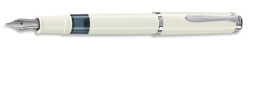 PELIKAN Tradition Series 205 White, Broad Point Fountain Pen (976738)