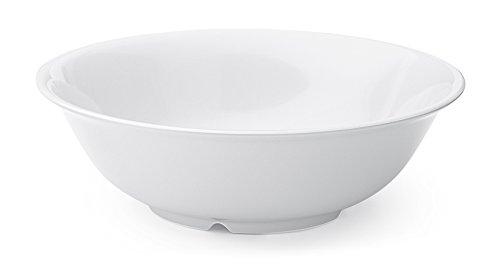 G.E.T. Enterprises SP-M-812-W-EC 1.6 Qt. Melamine Bowls Melamine, White (Pack of 4)