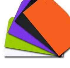 10 regular envelope assorted halloween colors 24 astrobright papers 4 1 - Color Of Halloween