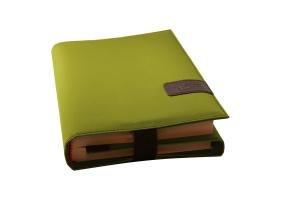 BookSkin lindgrün: schützende Buchhülle aus Mikrofaser mit integriertem Lesezeichen Barth & Bauer Non Books Non-Books Nonbooks Sonstiges (Adreßbücher Alben Blankobooks)
