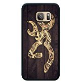 Samsung S7 TPU Cases Designed with Camo Browning Logo Black TPU Case for Samsung Galaxy S7