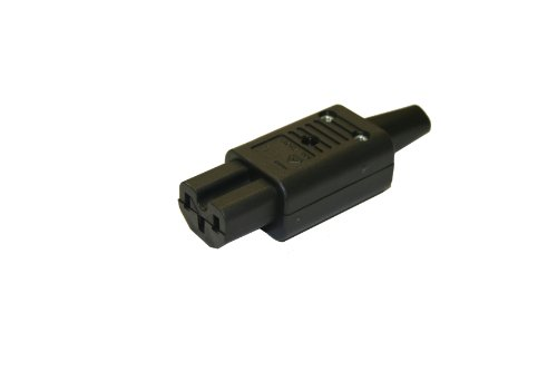 Interpower 83012700 IEC 60320 C15 Hot Rewireable Connector, IEC 60320 C15 Socket Type, Black, 10A/15A Rating, 250VAC Rating by Interpower