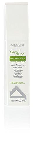 AlfaParf Semi Di Lino Reconstruction Anti-Breakage Daily Fluid for Damaged Hair, 4.22 Ounce Daily Fluid