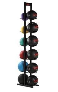 SPRI 12-Ball Xerball Medicine Ball Rack by SPRI