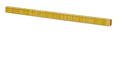 1/4'' Leg x 1/4'' Crown 18GA Galvanized L04 Staples 5M Box