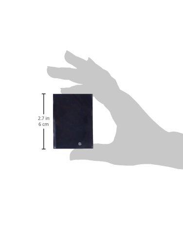 Konami Ultra-Pro Sleeves New Standard Deck Protectors, Black