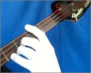 2 Pack fits either hand SKIN TAN COLOR Guitar Glove //Bass Glove //Musician Practice Glove S