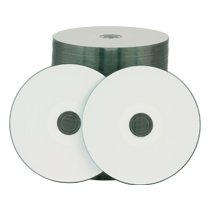 Rimage Classic Inkjet CD-R 48x 700MB White Hub Printable 600 Count by Rimage