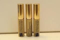 Estee Lauder Sumptuous Extreme Lash Multiplying Volume Mascara - # 01 Extreme Black Mini Size .1 oz / 2.6ml x 3 pcs