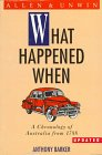 What Happened When?, Barker, Anthony, 1863739866