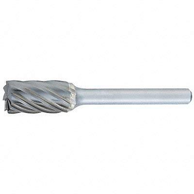 OSG USA 881-5000 SA-5A - 1/2 x 1 LOC x 1/4 Shank x 2 OAL Cylindrical Carbide Aluminum Cut Burr