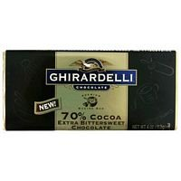 60% Cacao Bittersweet Chocolate - Ghirardelli Chocolate Baking Bar, 60% Cacao Bittersweet Chocolate 4oz Bar (Pack of 6)