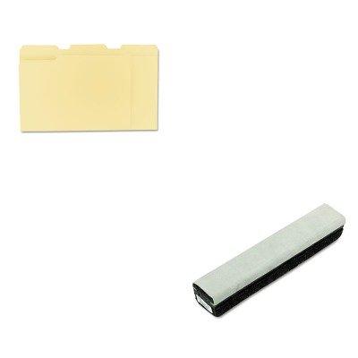 KITQRT807222UNV12113 - Value Kit - Quartet Deluxe Chalkboard Eraser/Cleaner (QRT807222) and Universal File Folders (Qrt807222 Deluxe Chalkboard Eraser)