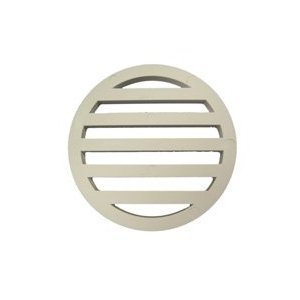 Plastic Drain Cover 3'' inch diameter & 1/4'' inch thick - 10 PACK - High Quality