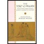 The Tso Chuan by Watson,Burton. [1992] Paperback