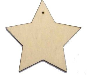 wooden stars for crafts 10 x wooden shapes plain wood craft tags with 5785