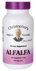 Alfalfa Feuilles Dr Christopher 100 Vcaps