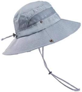 Lanly Sonnenhut Unisex Herren Damen Safari Hut UV Schutz Faltbar Wanderhut Gartenhut Sommerhut Outdoor Fischerhut Buschhut