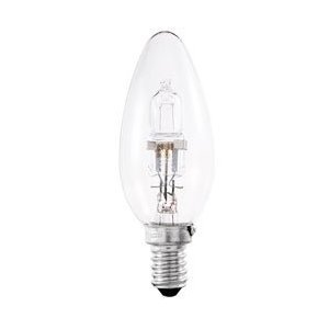 6x Dimmable Energy Saving Halogen Candle 42w (Equivalent to 60w ...