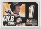 Chipper Jones (Baseball Card) 2000 Upper Deck MVP - MLB 2001 Sweepstakes/Game Tips #1 - 2000 2001 Upper Deck
