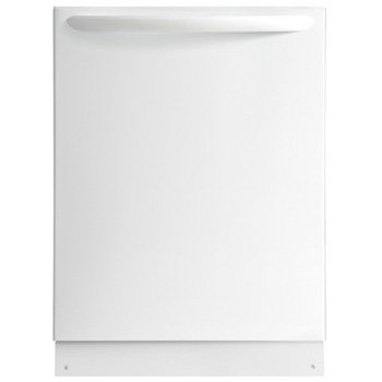 "Frigidaire Gallery 24"" Tall Tub Built-In Dishwasher with Stainless-Steel Tub White FGID2474QW"