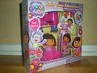 Dora the Explorer Bath Time Adventures, Squirter Poof, Toy Binoculars, Temporary Tattoos & Body Wash