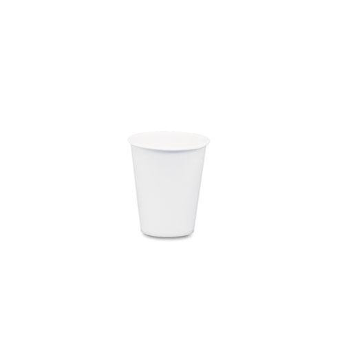 Solo 44CT White Paper Water Cups, 3oz, 100/Bag, 50 Bags/Carton