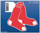 Boston Red Sox Official MLB 4.5 inch x 6 inch Car Magnet by Wincraft