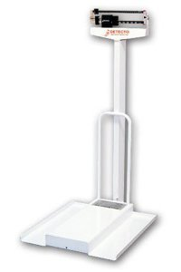 Detecto Scales Mechanical Wheelchair Scale Capacity: 308....