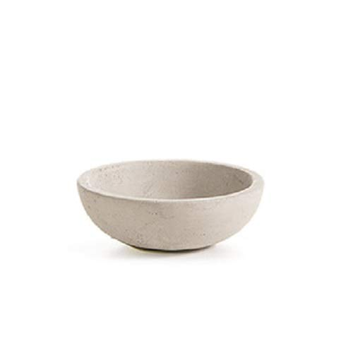Small Decorative Cement Concrete Bowl for Ring and Jewelry Storage, 3 inch