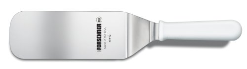 Victorinox 3-Inch by 8-Inch Grill Turner Head, White Poly Handle