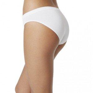 Boody Organic Bamboo EcoWear Women's Classic Bikini,White,Large