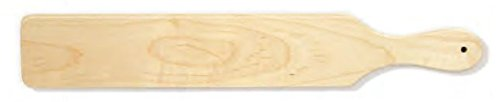 22 Inch Unfinished Maple Wood Traditional Greek/Sorority/Fraternity Paddle ()