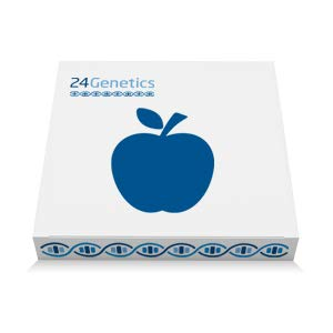 24Genetics - Nutrigenetics - DNA Test for Nutrition - Includes Genetic Test with at-Home Swab Collection kit