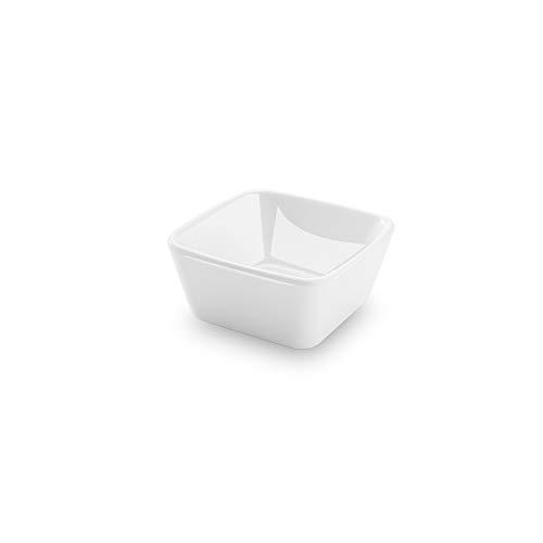 Bowl Quadrado 8x8x4cm 90ml Dt0650-0 Haus Concept Fingerfood Branco
