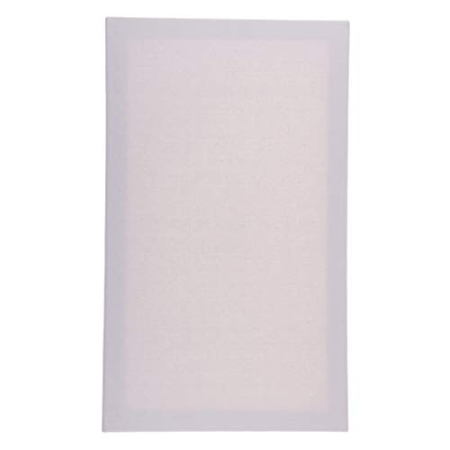 Fityle Canvas Panel Board Plain White Artist Blank Cotton Stretched Canvas Board for Art Oil Acrylic Painting Supplies(30x50cm, 24x30cm, 40x40cm, 20x40cm) - 30x50cm