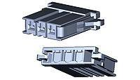 Headers & Wire Housings DYNAMIC D4200 REC HSG 2P/X (1 piece) (Rec Housing)