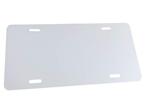 - Partsapiens Corp. Anodized Aluminum License Plate Blank Heavy Gauge .040 (1mm) - 12x6