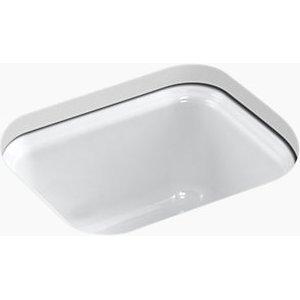 - KOHLER K-6589-U-0 Northland Undercounter Entertainment Sink, White
