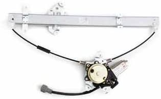 TYC 660086 Nissan Pathfinder Front Driver Side Replacement Power Window Regulator Assembly with Motor