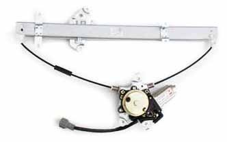Power Window Driver Pathfinder Regulator - TYC 660086 Nissan Pathfinder Front Driver Side Replacement Power Window Regulator Assembly with Motor